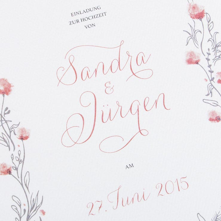 Wedding – Sandra & Jürgen